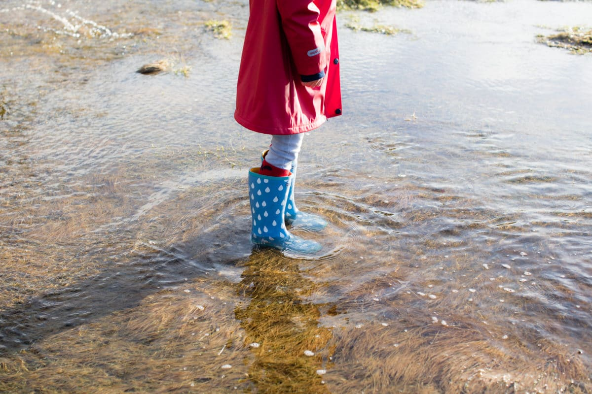 5 reasons why wellies are the best (British) beach footwear