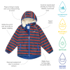 Ecosplash fleece lined jacket