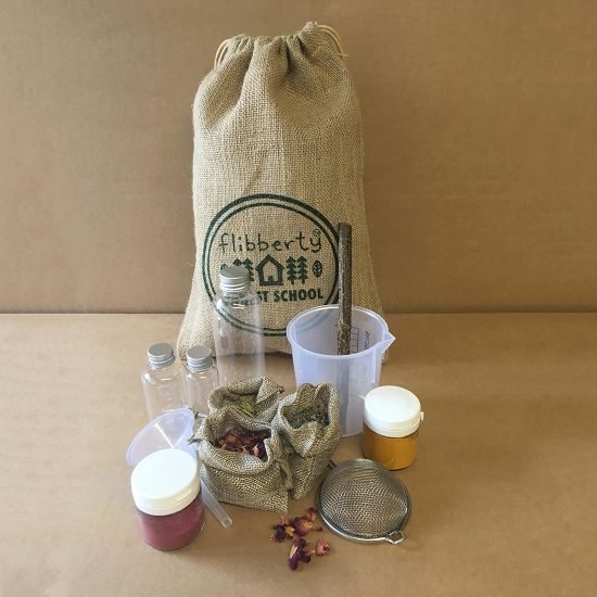 Forest School Portable Potion Making Kit