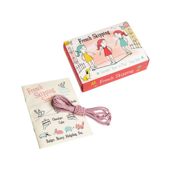 French skipping rope set