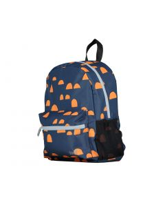 Navy Print Backpack