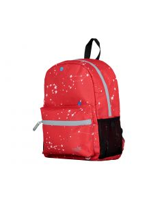 Red Interstellar Print Backpack