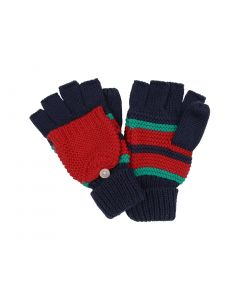 Knitted Trapper Mittens