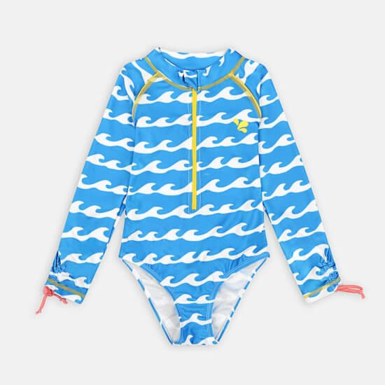 Long Sleeve Sunsafe Surf Swimsuit UPF 50+