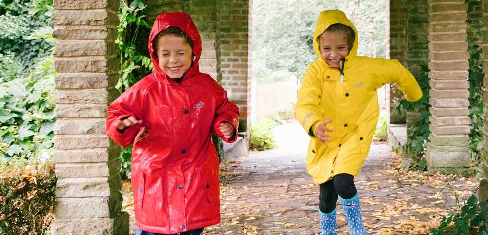 puddleflex kids waterproof jacket