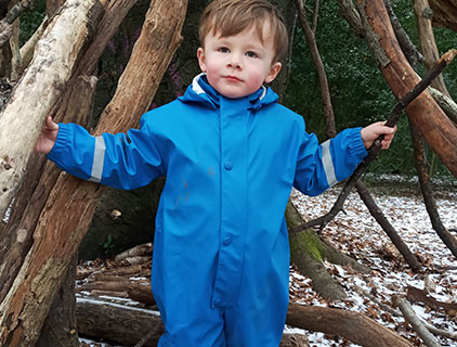 Childrens waterproof jacketes and puddle suits - Rainy day collection