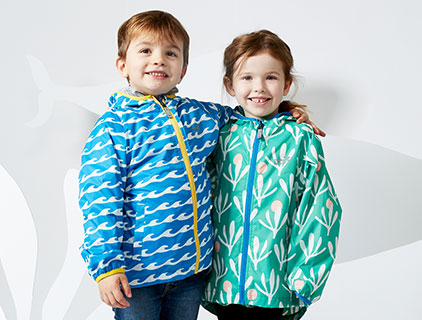 Childrens rainwear by Muddy Puddles